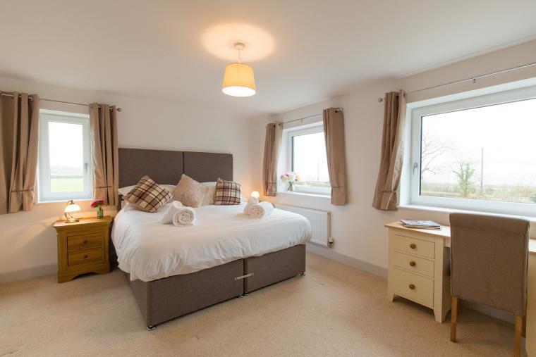 Stylish comfortable bedrooms