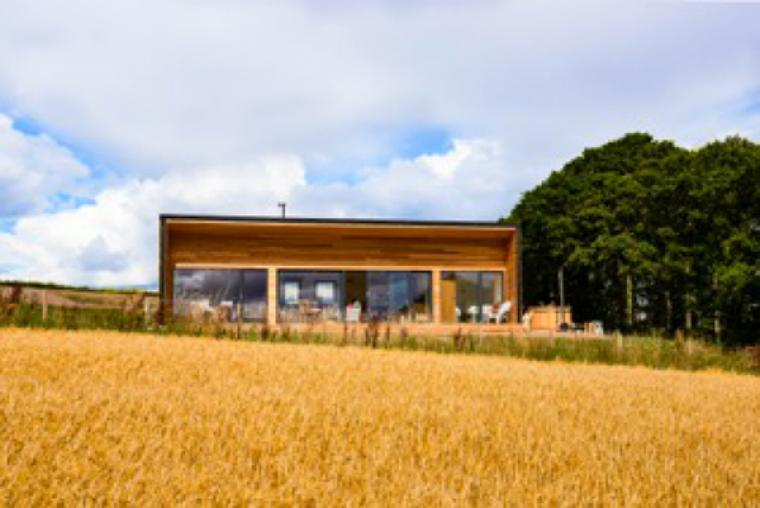 Eden Hideaway, Stylish Lodge in the Scottish Borders