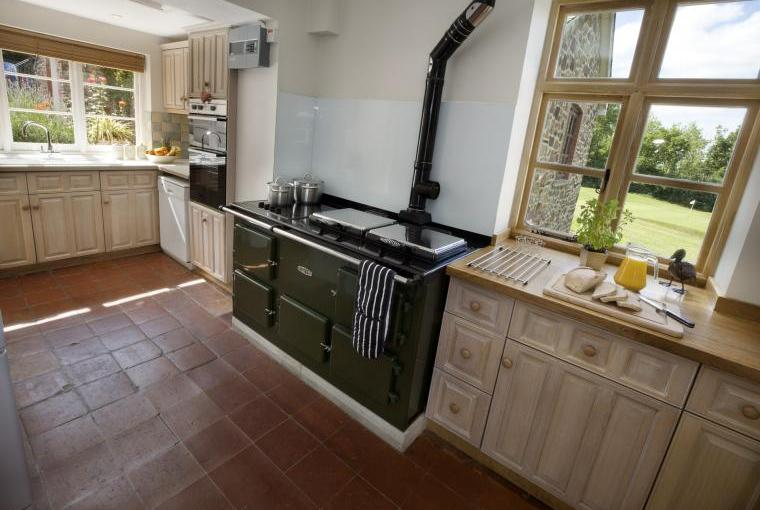 Kitchen, Fairways East Cottage, Devon