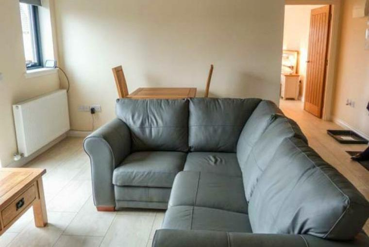 Comfy seating area