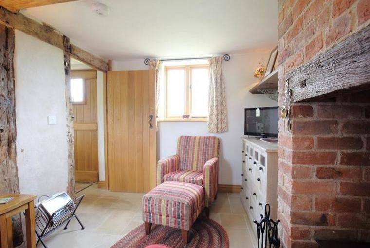 Cosy lounge with warming woodburner
