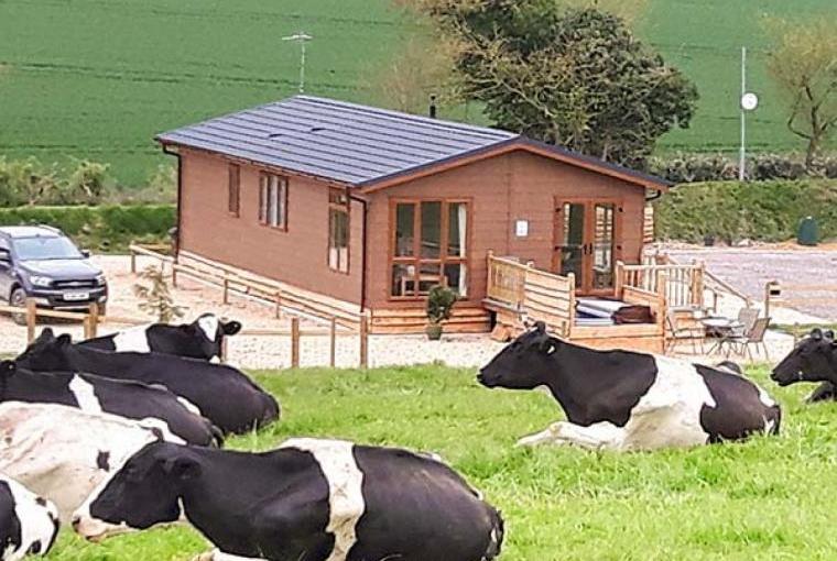 Rural holiday lodge