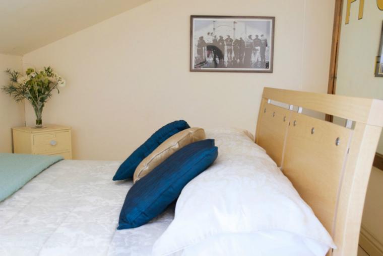 Wilf's Barn Bedroom