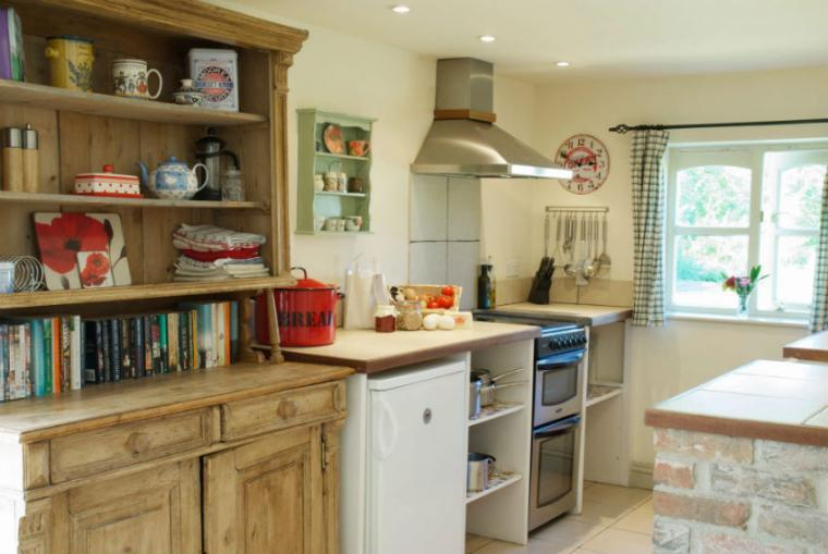 Wilf's Barn Open Plan Living area