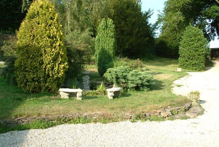 The grounds at The Old Manor, Somerset