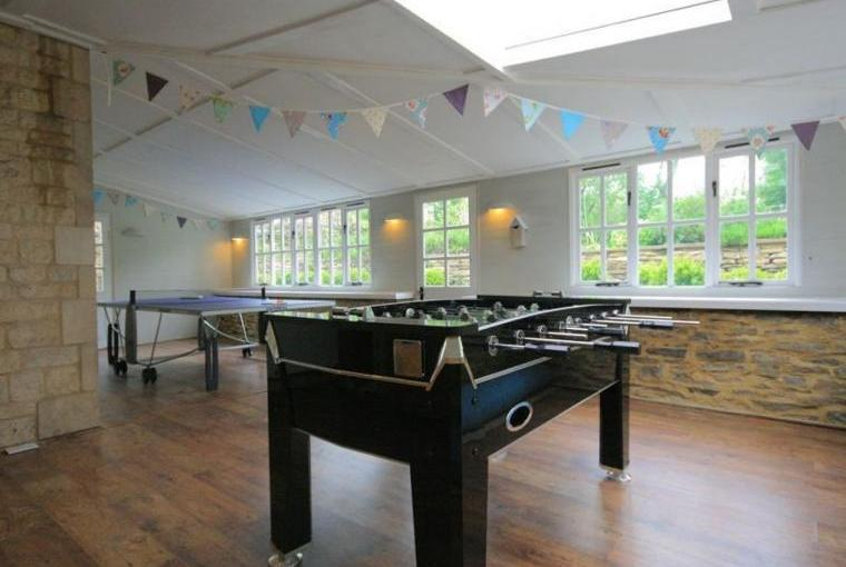 Games room, South Hill Farmhouse