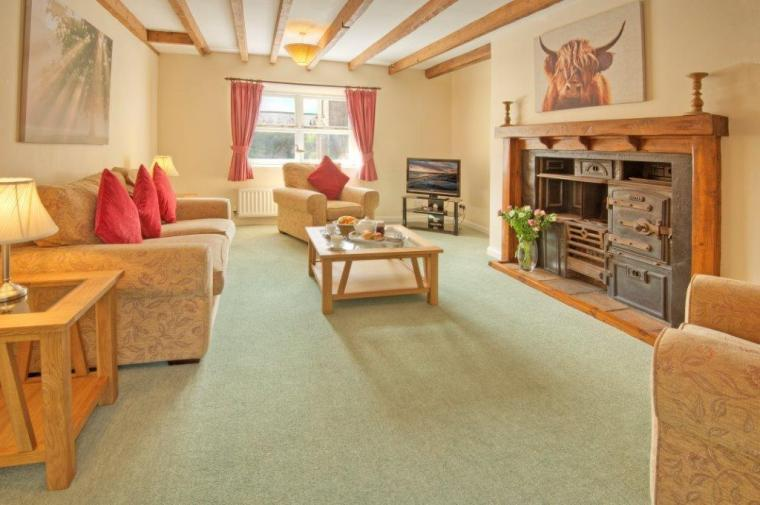 The Lounge at Mrs Fordys Cottage