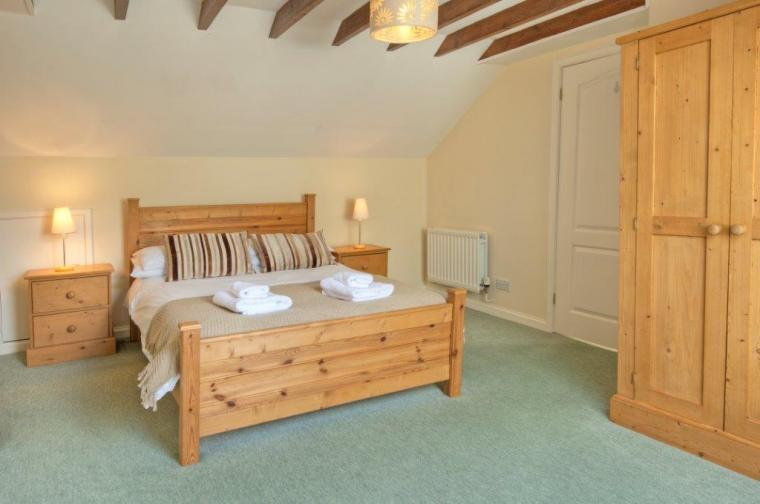 Double bedroom at Mrs Fordys Cottage