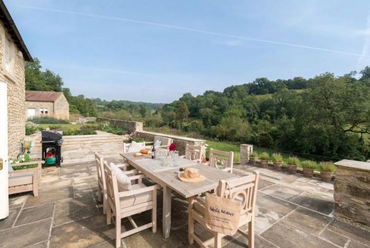 Stunning outdoor terrace