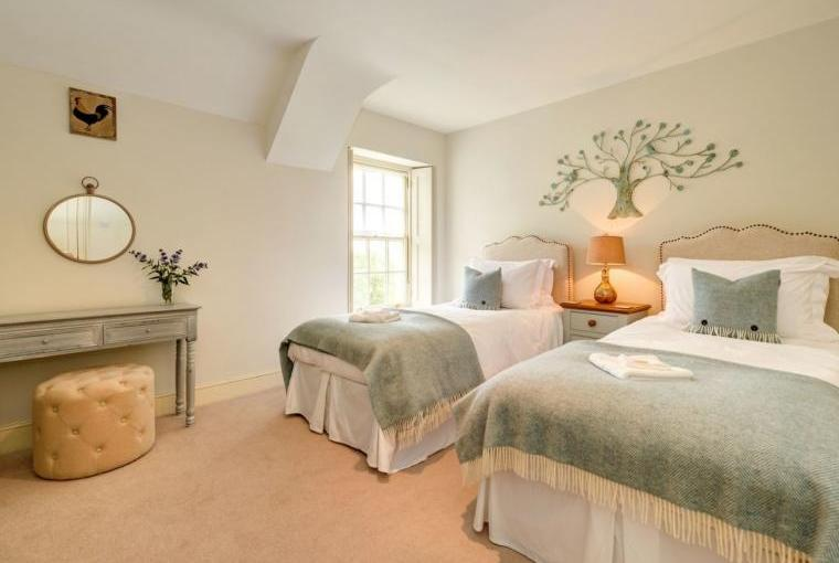 Beautiful bedrooms, Week Farm