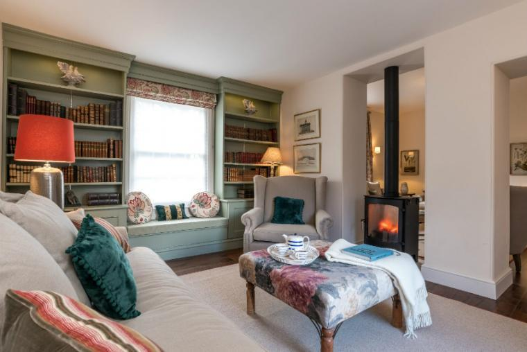 Relax by the woodburner, Allington Court, Bridport