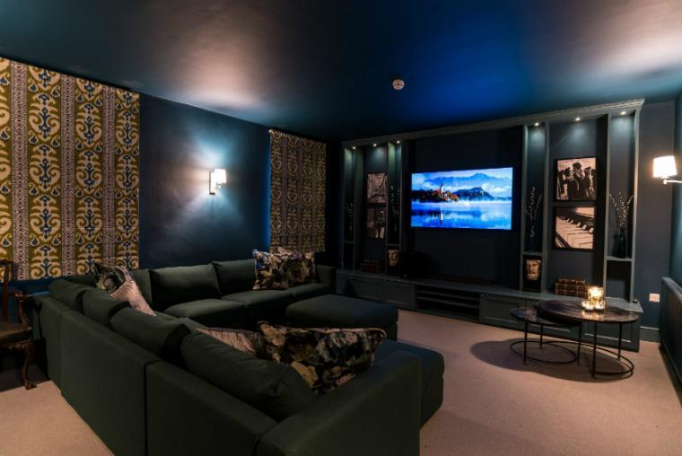 High tech cinema room, Allington Court, Bridport