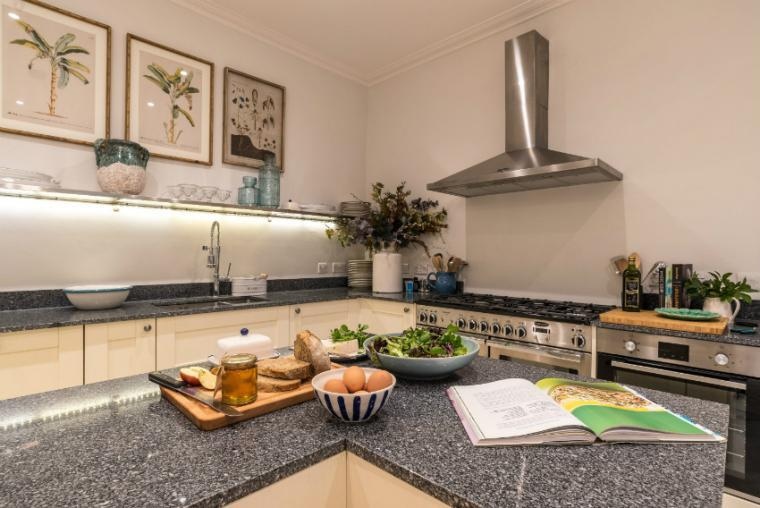 Stylish kitchen, Allington Court, Bridport