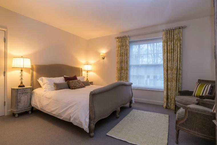 Spacious stylish bedrooms, Allington Court, Bridport
