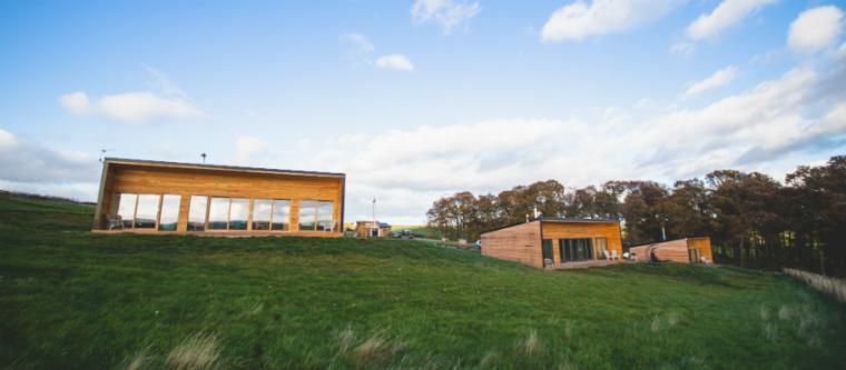 High quality lodges, Scottish Borders