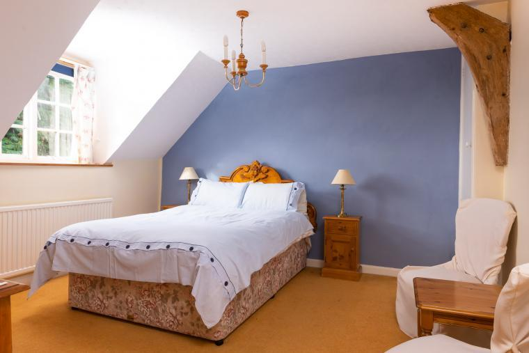 Bedroom, Nuthatch Cottage