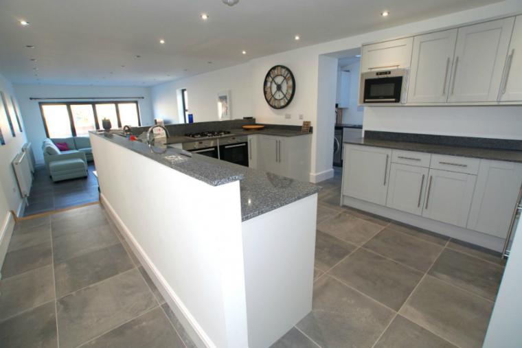 Spacious luxurious kitchen