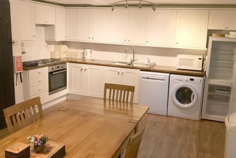 Kitchen, Linhay Cottage, Boswell Farm Cottages, Devon