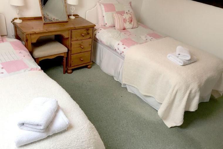 Bedroom, Linhay Cottage