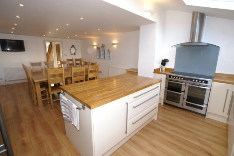 Spacious kitchen/diner, Foreshore