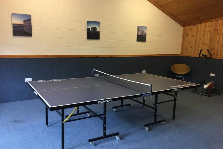 Games room, Luccombe Farm, Dorset