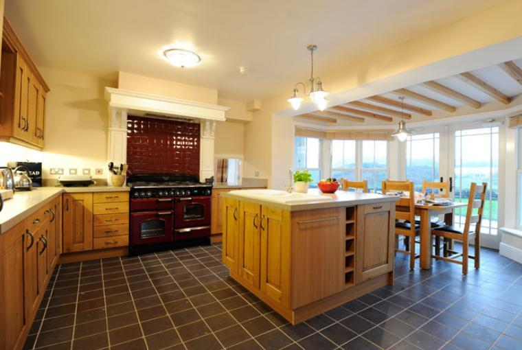 Kitchen, Llanlliana Country House