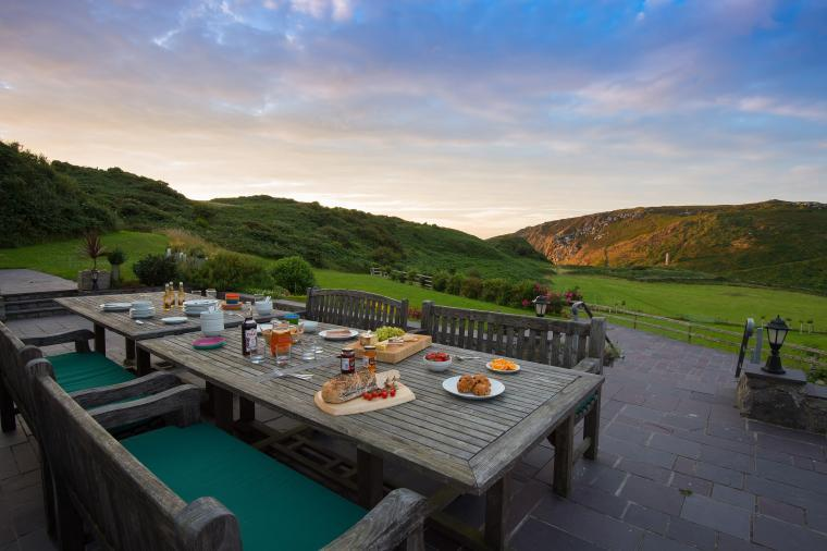 Stunning views, Llanlliana Country House, Anglesey, Wales