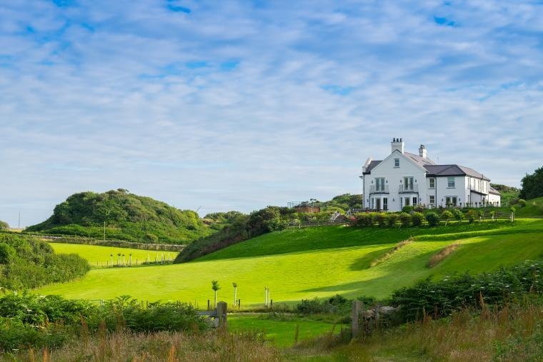 Amazing location, Llanlliana Country House, Anglesey, Wales