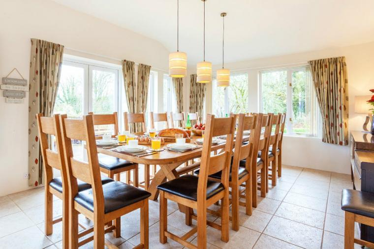 Dining area, The Cottage Beyond