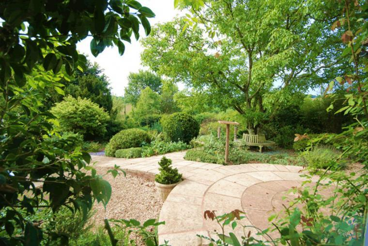 Gardens at the Cottage Beyond, Somerset