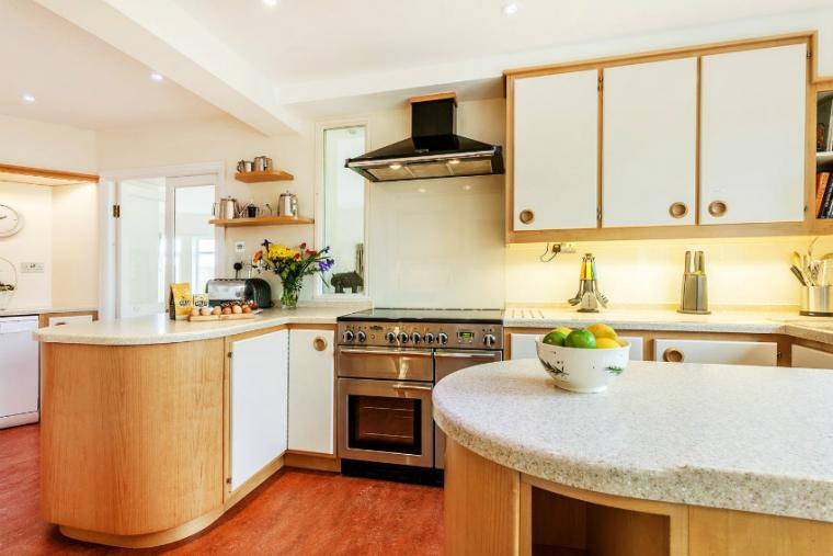 Well equipped kitchen, the Cottage Beyond, Somerset