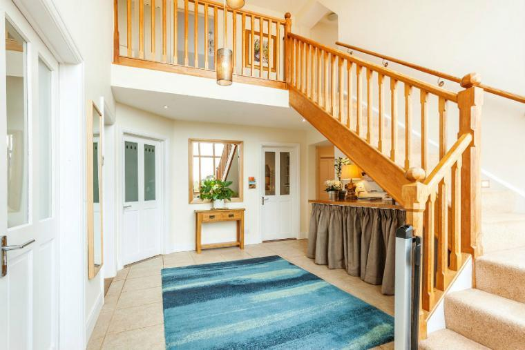 Staircase, the Cottage Beyond, Somerset