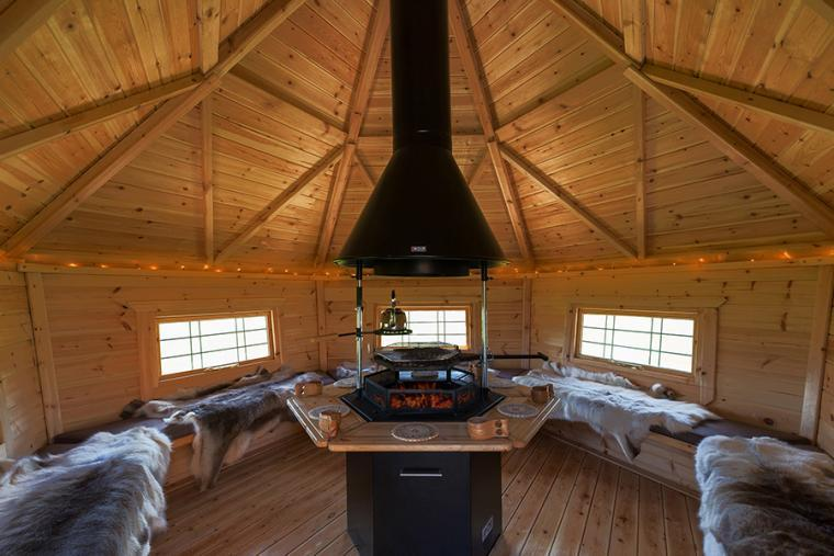 Scandinavian style BBQ lodge, the Shires