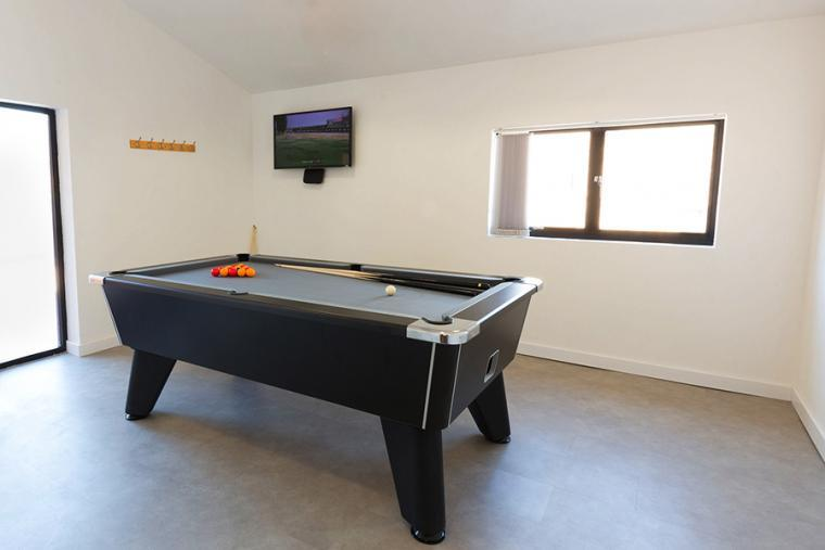 Games room, the Shires