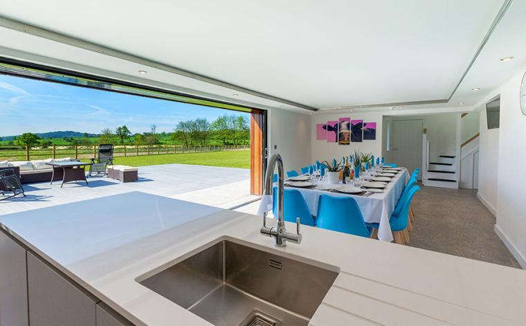 The Shires, Luxurious 6 Bedroom Accommodation near Honiton