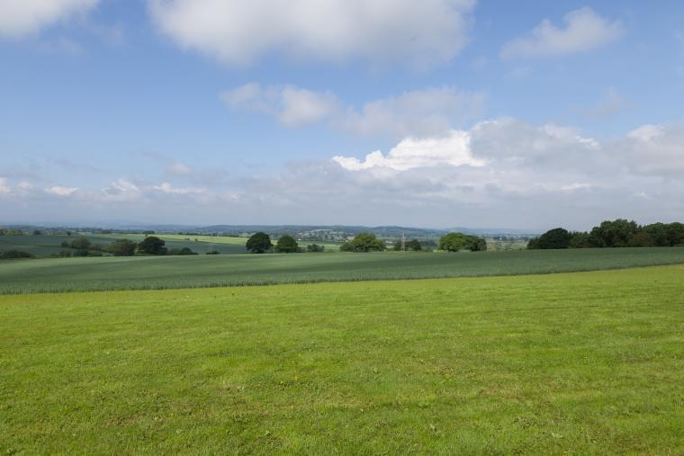 Stunning country views await guests