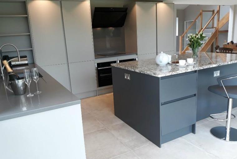 Sleek stylish kitchen