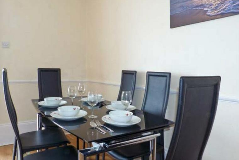 Dining area, Sandsview House