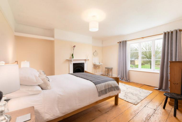 Comfortable bedrooms, Northleigh House