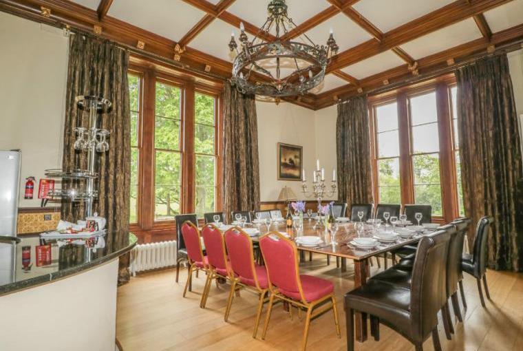 Dining room, Staffield Hall
