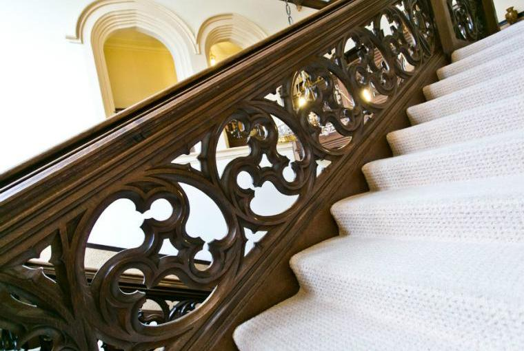 Staircase, Staffield Hall