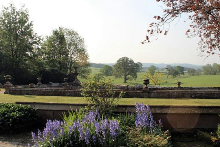 Gardens, Staffield Hall