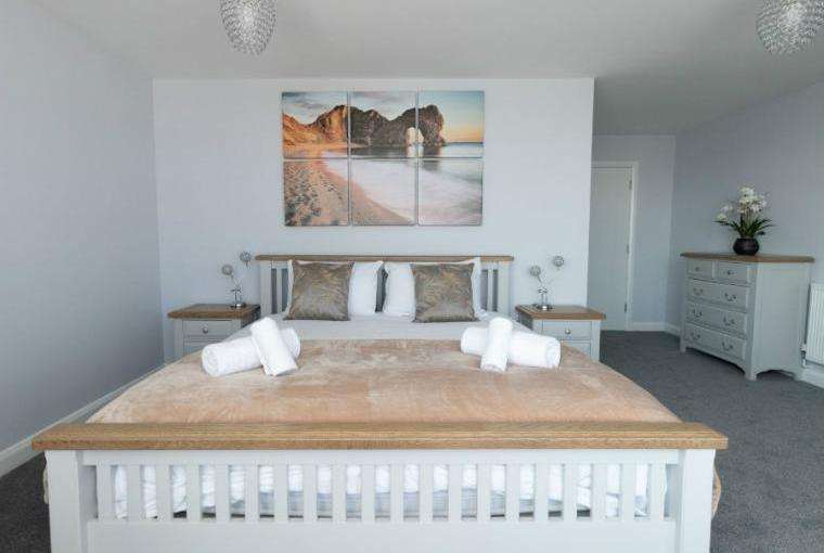 Smartly presented bedrooms