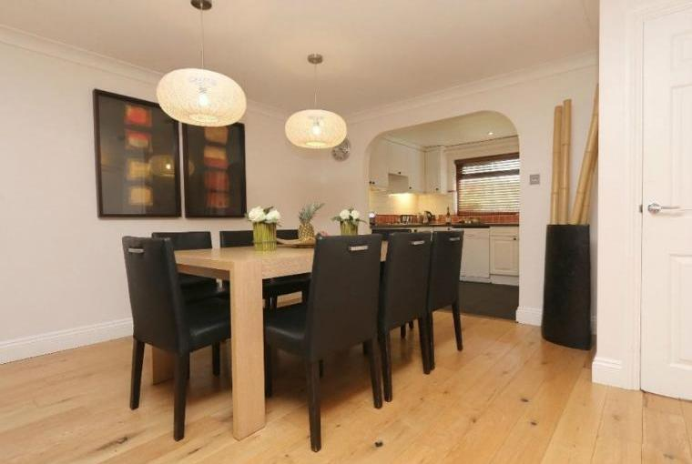 Dining area, Jasmine Cottage near Padstow