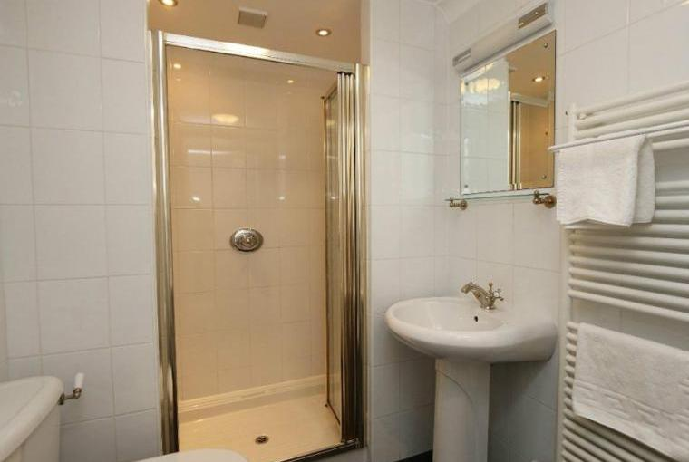 Shower room, Jasmine Cottage near Padstow