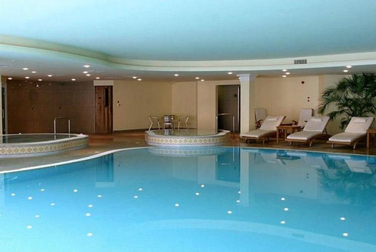 Indoor swimming pool on site