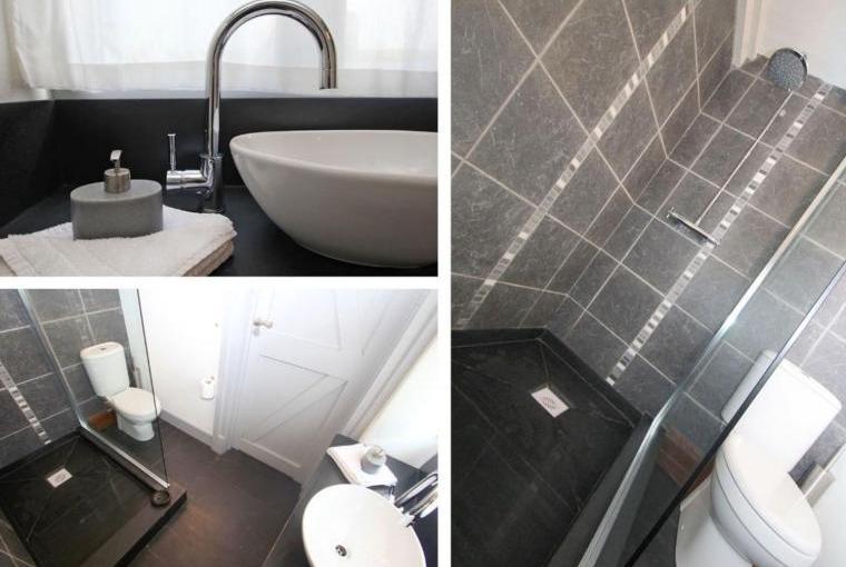 Sleek modern stylish accommodation
