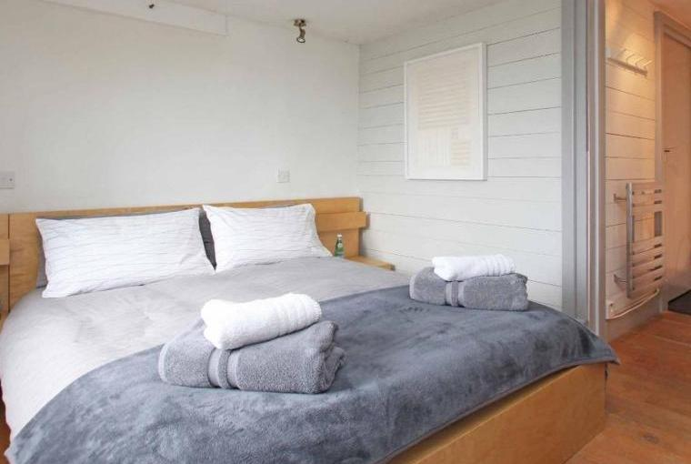 Bedroom with king-sized bed