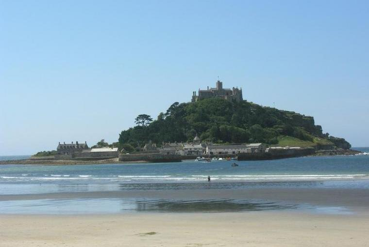St Michaels Mount is nearby