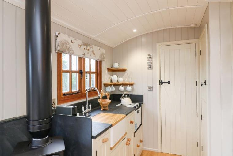 Inside Little Silver Fox Shepherds Hut